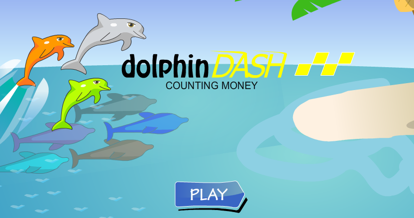 Dolphin Dash Money Counting