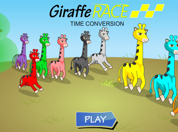 Giraffe Dash Time Conversion