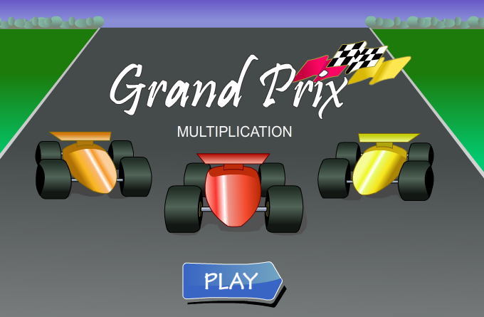 multiplication games grand prix
