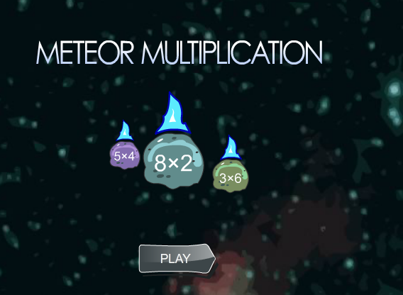 Meteor Multiplication Facts