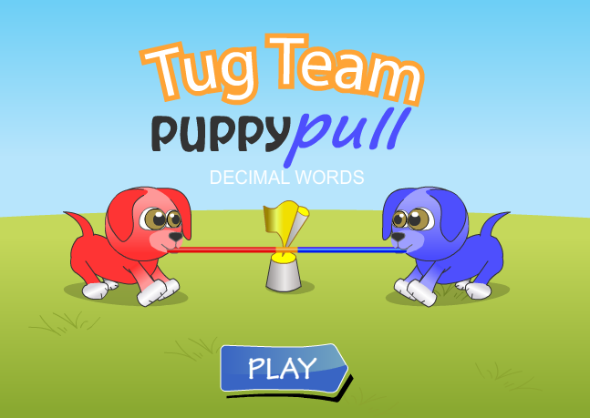 Puppy Pull Decimal Conversion