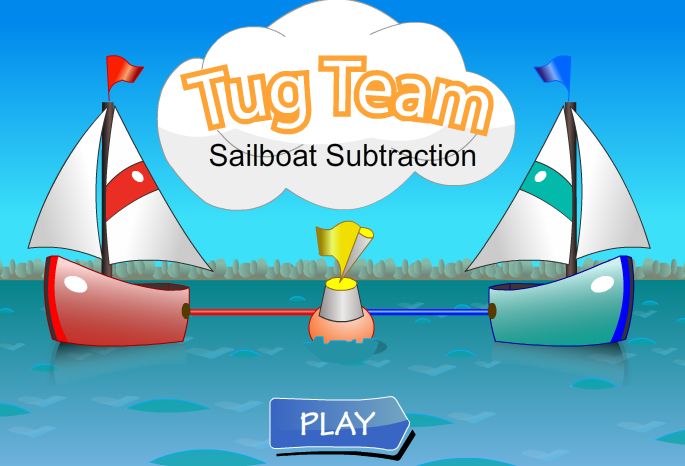 Sailboat Tug Team Subtraction