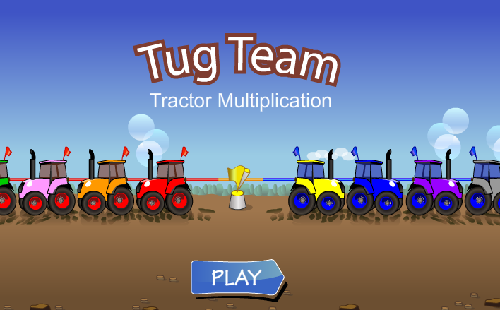 Tractor Tug Team Multiplication
